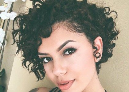 Love Hairstyles For Short Curly Hair Wanna Give Your A New Look Is Good Choice You