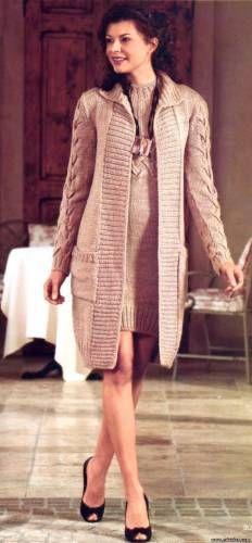 Model veste tricot femme