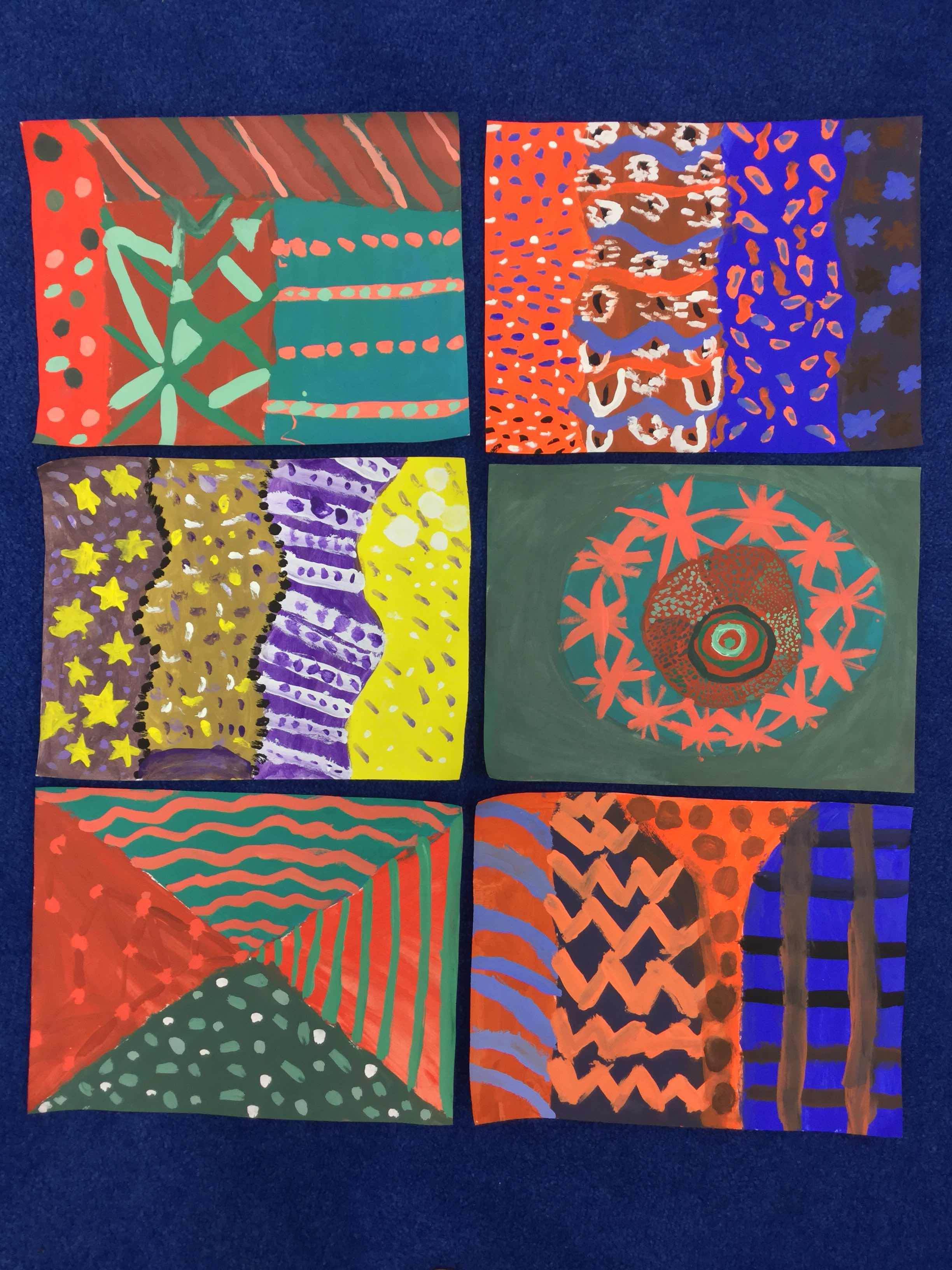 4th grade complementary paintings (With images)   Abstract ...