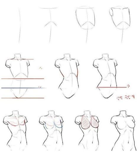 Images By Marcus Potts On Drawing. | Body Drawing Tutorial