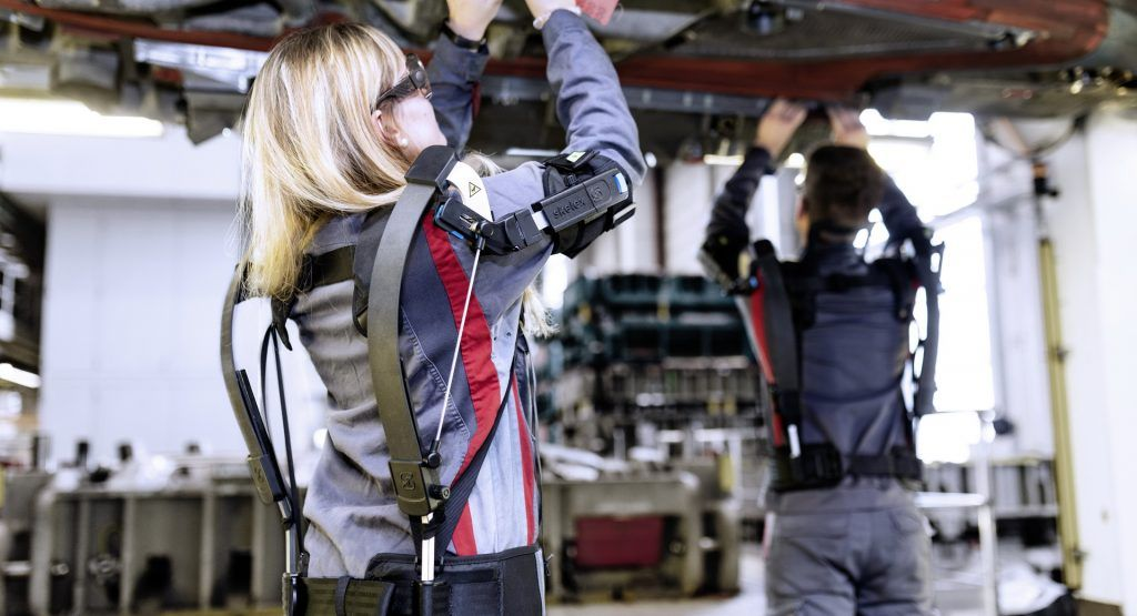 Audi Workers Are Trying Out Exoskeletons In Germany