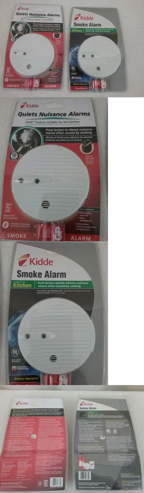 Smoke Detectors 115942 2 Bundle Kidde Fire Alarm Protection Kitchen Home