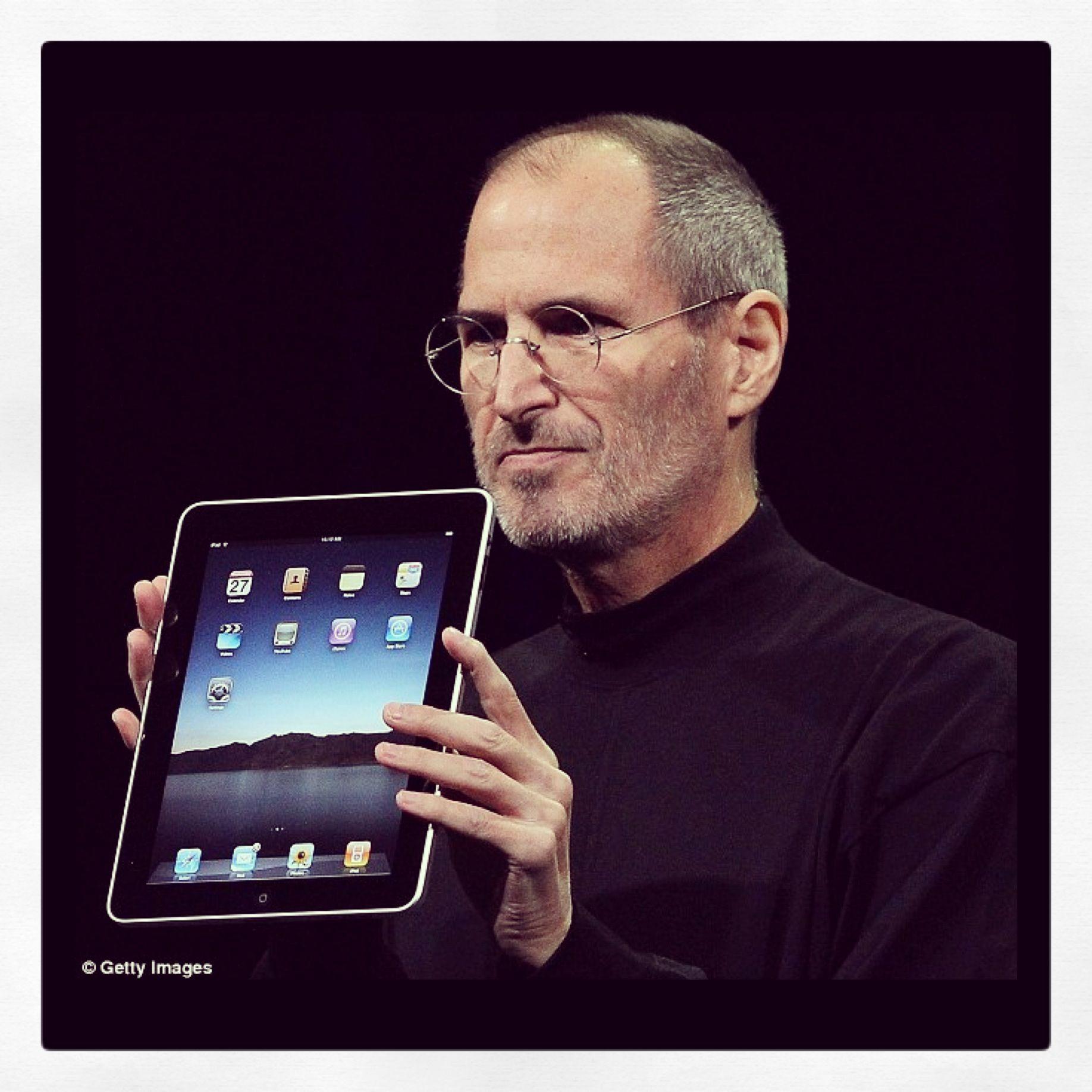happy birthday iPad 3years youvechangedtheworld Steve