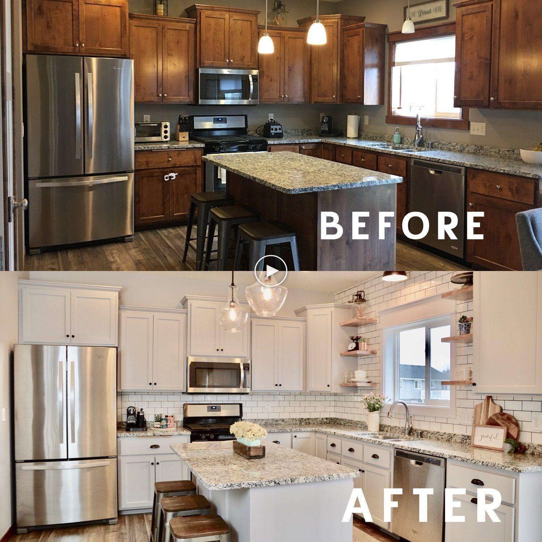 Comment Mettre A Jour Une Maison Datee Sans Remodelage Kitchen Remodel Small Diy Kitchen Renovation Diy Kitchen Remodel