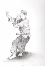 Pin By Fameus On Nice Graphic Art Sketches Martial Arts
