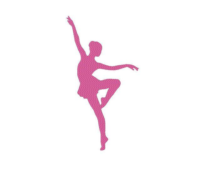 Diseño De Máquinas De Bordado De Bailarina Ballet