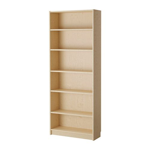 Billy Bookcase Birch Veneer Bedroom Remodel Ikea