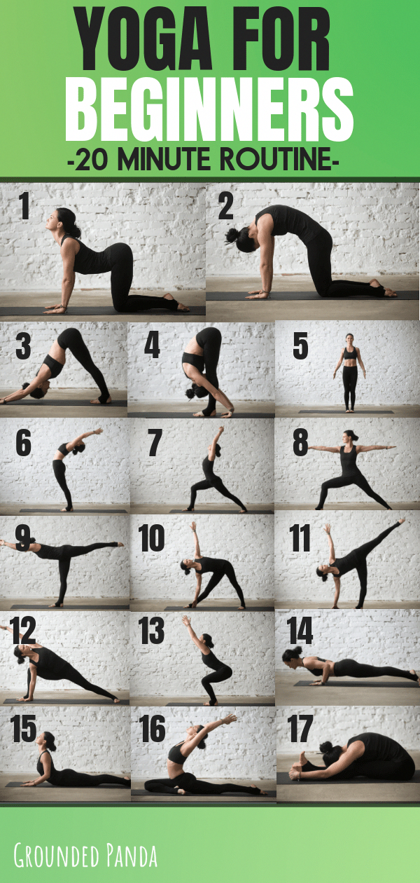 Yoga for Beginners 20 Minute Routine. Are you a complete beginner to yoga? This 20 minute yoga routi...