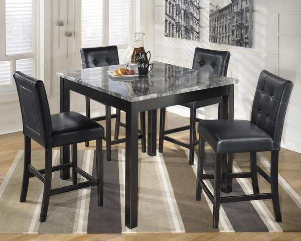 Maysville 5Pc Counter Height Table Set  Dining Room  Pinterest Awesome Comfortable Dining Room Sets Inspiration Design
