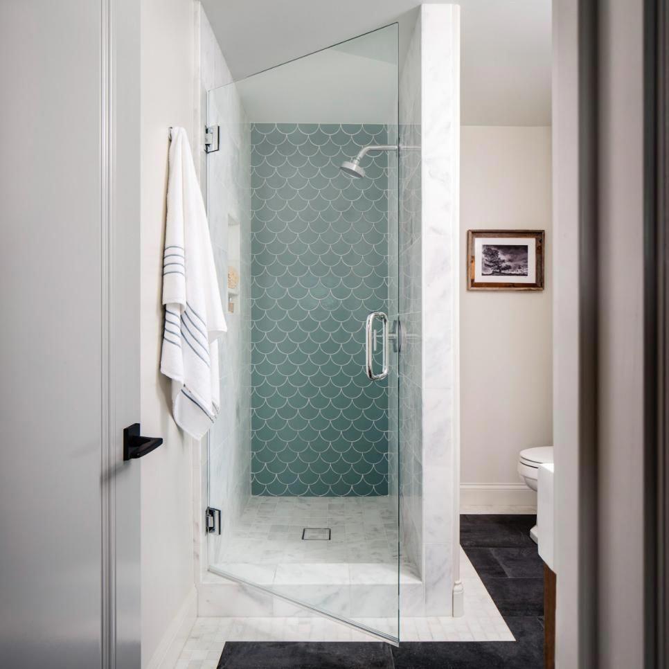 30 Small Bathroom Design Ideas Hgtv Powder Room Smallbathroomdesigns Bathroom Design Small Small Bathroom Small Master Bathroom
