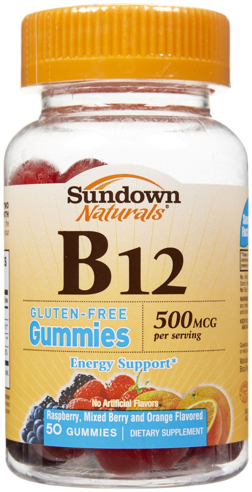 Sundown Naturals B12 Gummies 50 Ct Only 2 65 Reg 9 29 At Cvs Gummies Vitamins Natural Vitamins