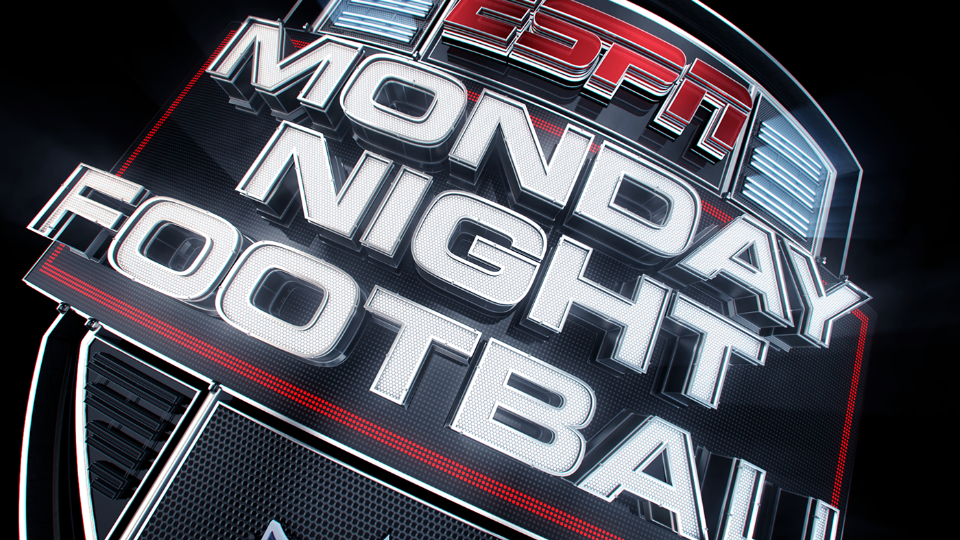 Espn Monday Night Football Game Package On Behance