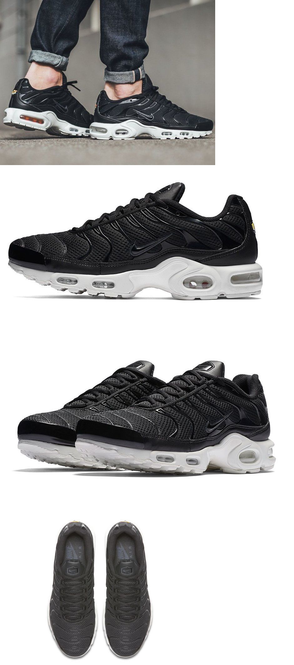 23dd1413b12 coupon for athletic 15709 new nike air max plus breeze men s sneakers black  white all