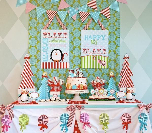 Christmas Birthday Party Ideas For Toddlers.Winter Wonderland Birthday Harper Ann S Birthday Winter