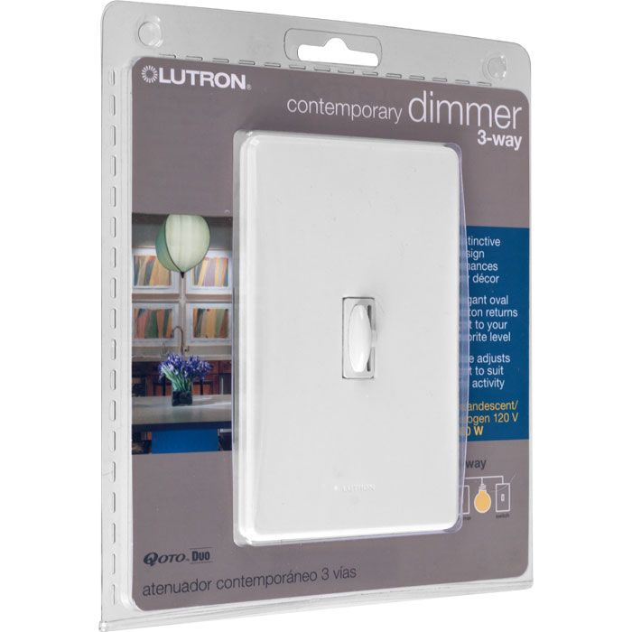 These Lutron Qoto Dimmers Are Designed To Replace Or Match Your Traditional Style Switches Save Energy And Extend Bulb Life With T Lutron Dimmer Switch Dimmer