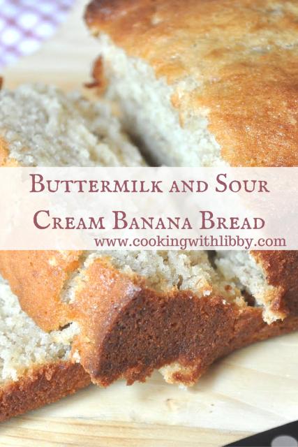 Easy Homemade Banana Bread Recipe Sour Cream Banana Bread Sour Cream Recipes Banana Bread Recipe Moist