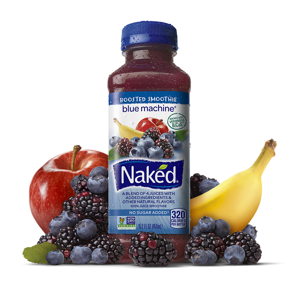 Naked Juice Boosted Smoothie Blue Machine Eat And Drink In
