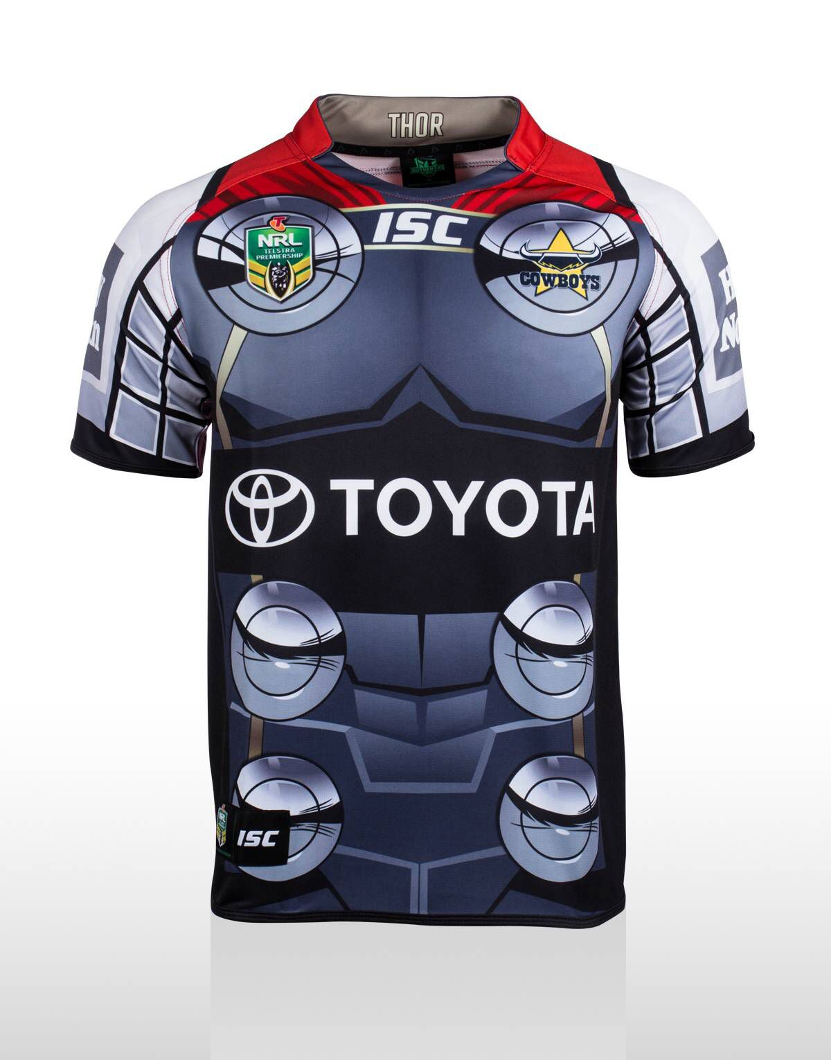 1bdc8d96182 North Queensland Cowboys Thor Jersey | LEGENDS | Rugby jersey design ...