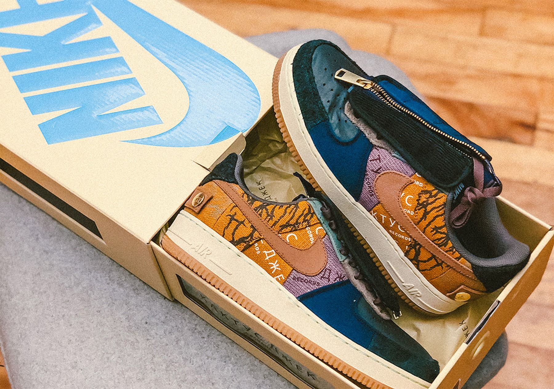 Travis Scott X Nike Air Force 1 Cactus Jack