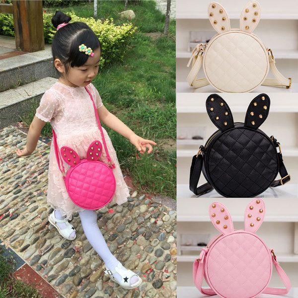 Xmas Gift Handbag Princess Kids Girl Cartoon Rabbit Ears Bag