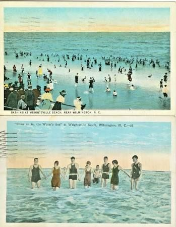 Wrightsville Beach Antique Postcards Google Search Beach Camping Wrightsville Beach Antique Postcard