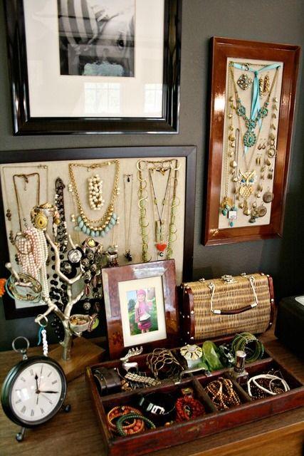 beautiful display of your jewelry