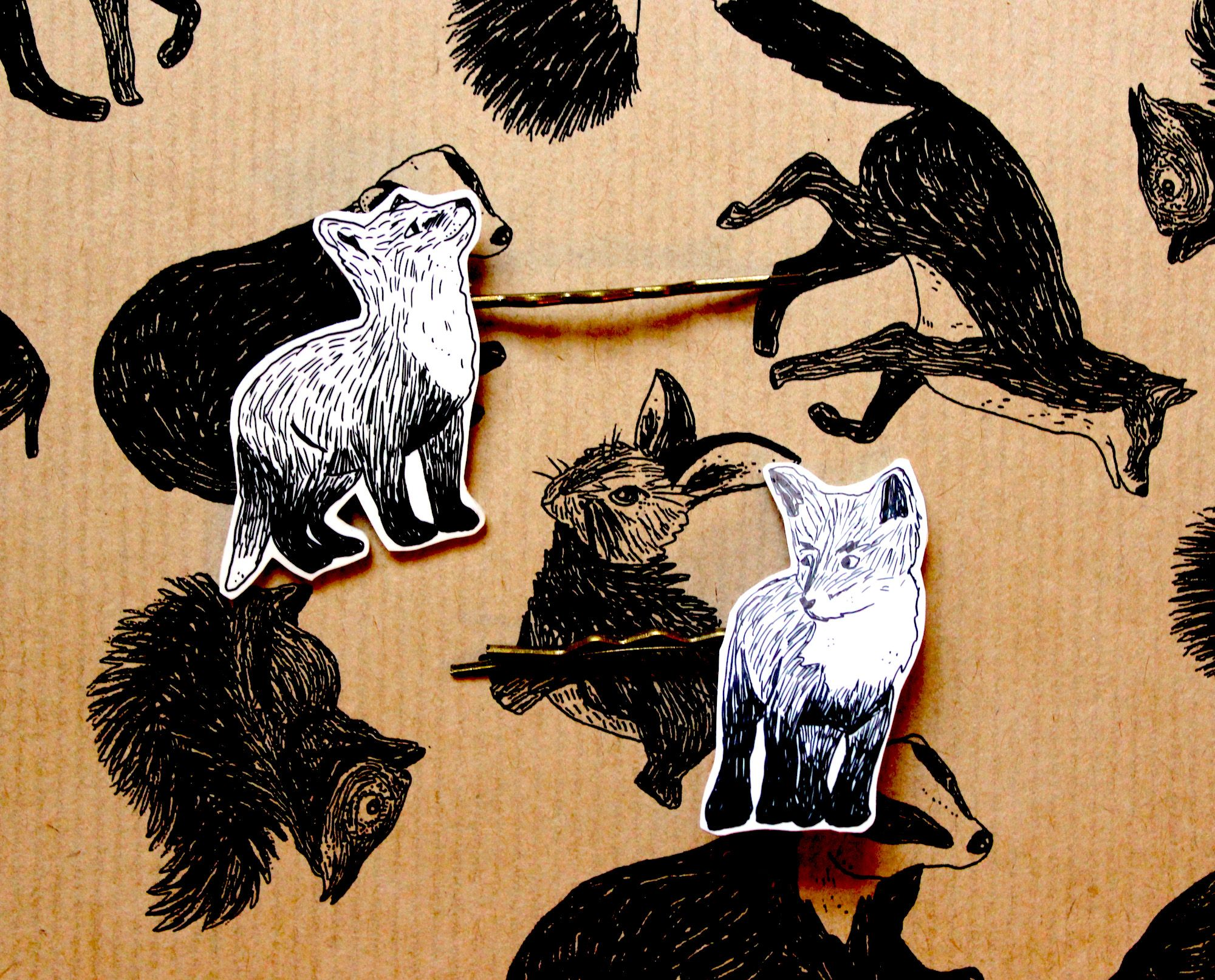 3b138c6099f9ad These adorable foxy hair clips are sure to make you stand out from the  crowd.