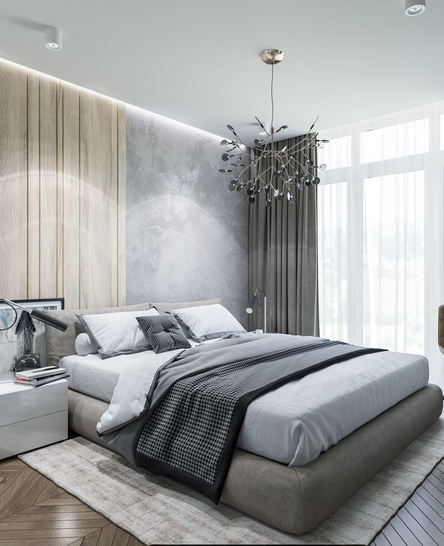 Apartment Kiev 63 Sq M 2018 Dizajn Interera Spalni