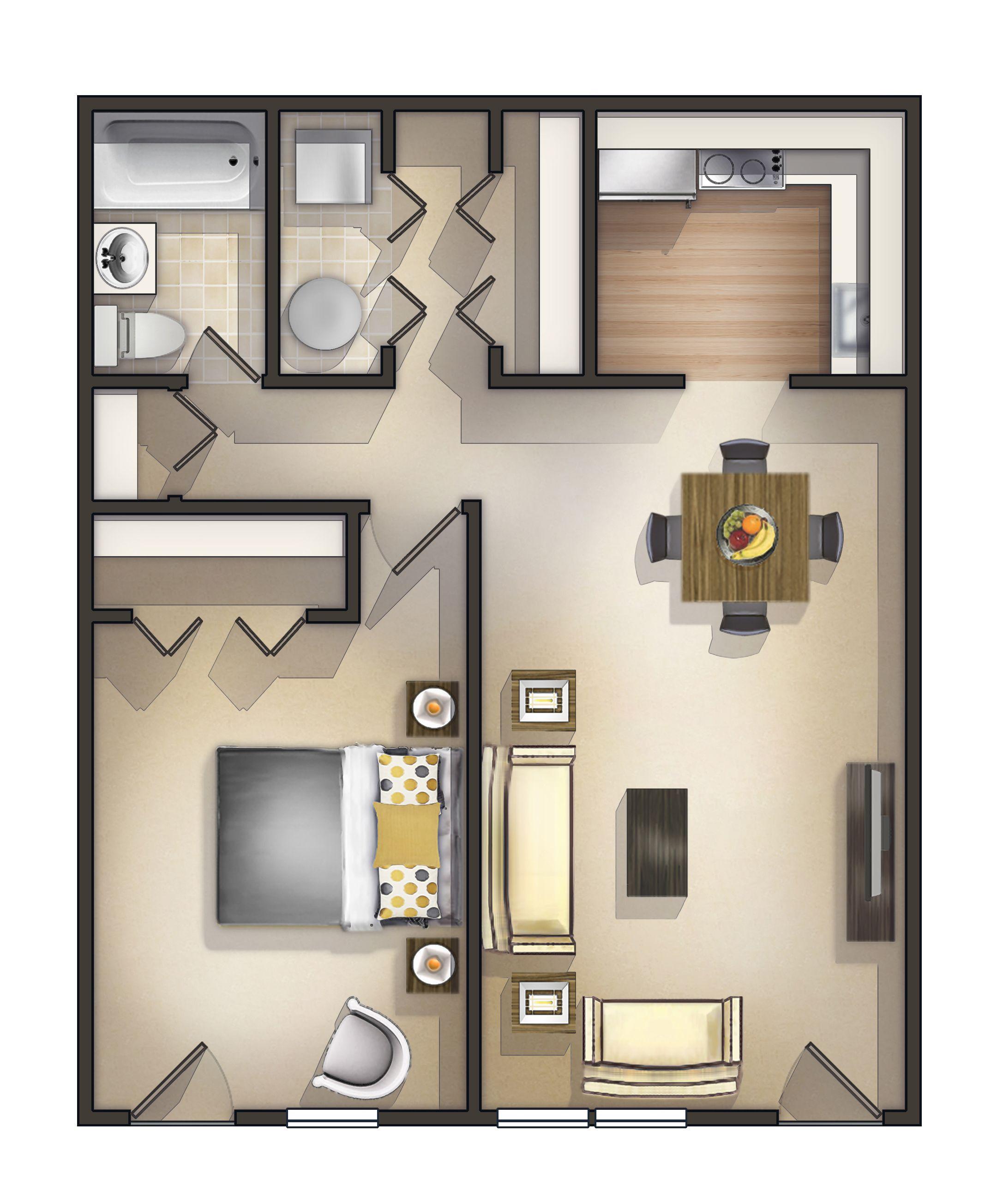 One Bedroom Rentals Near Me apartmentsforrent