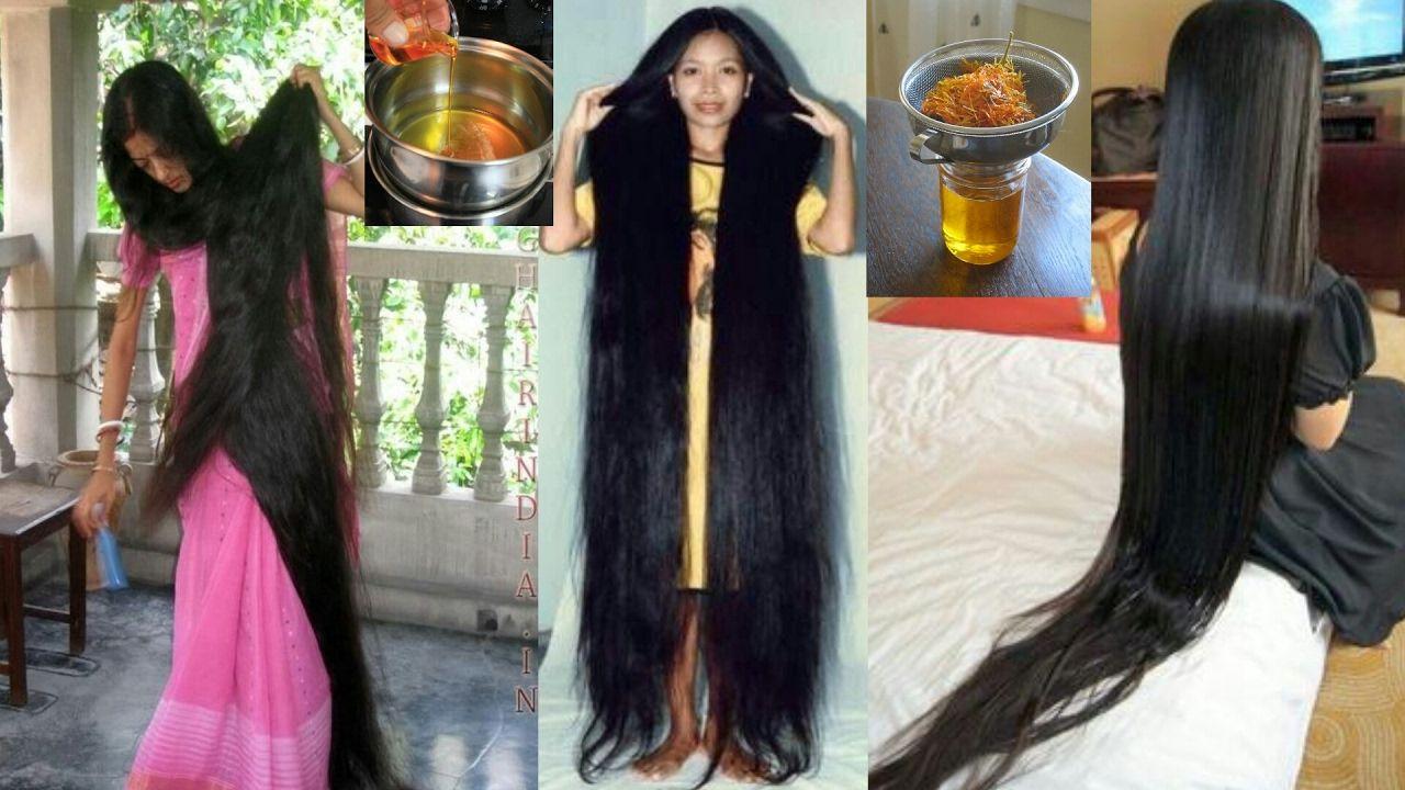 Pousse rapide des cheveux naturel