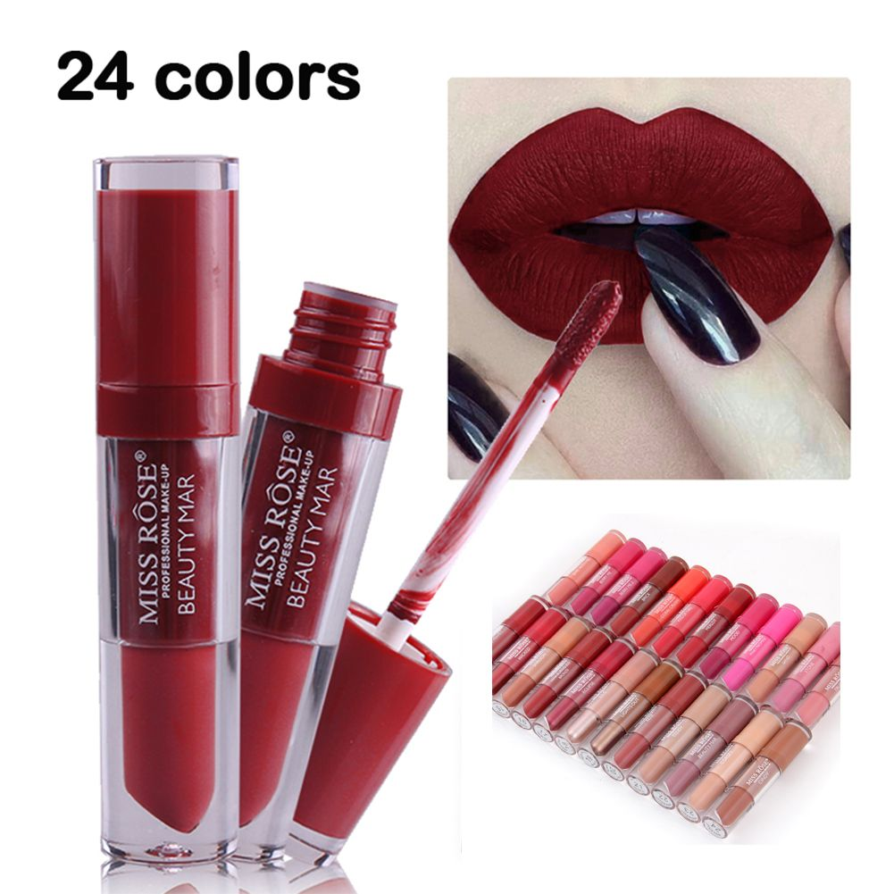 Beauty Essentials Liquid Lipstick Make Up Cosmetic Beauty Moisturizer Waterproof Lipstick Beauty For Women Pink Baby Lips Cosmetic Beauty Makeup Skilful Manufacture Lipstick