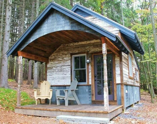Backwoods Cabin My Style Pinterest Cabin Tiny houses and