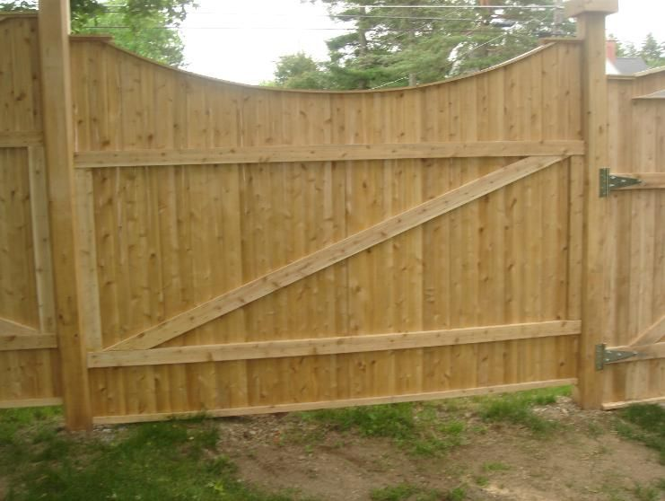 Awesome This Cedar Fence Was Made From Our 1x4 Fence Slats Along With Our 2x4 Rails  And