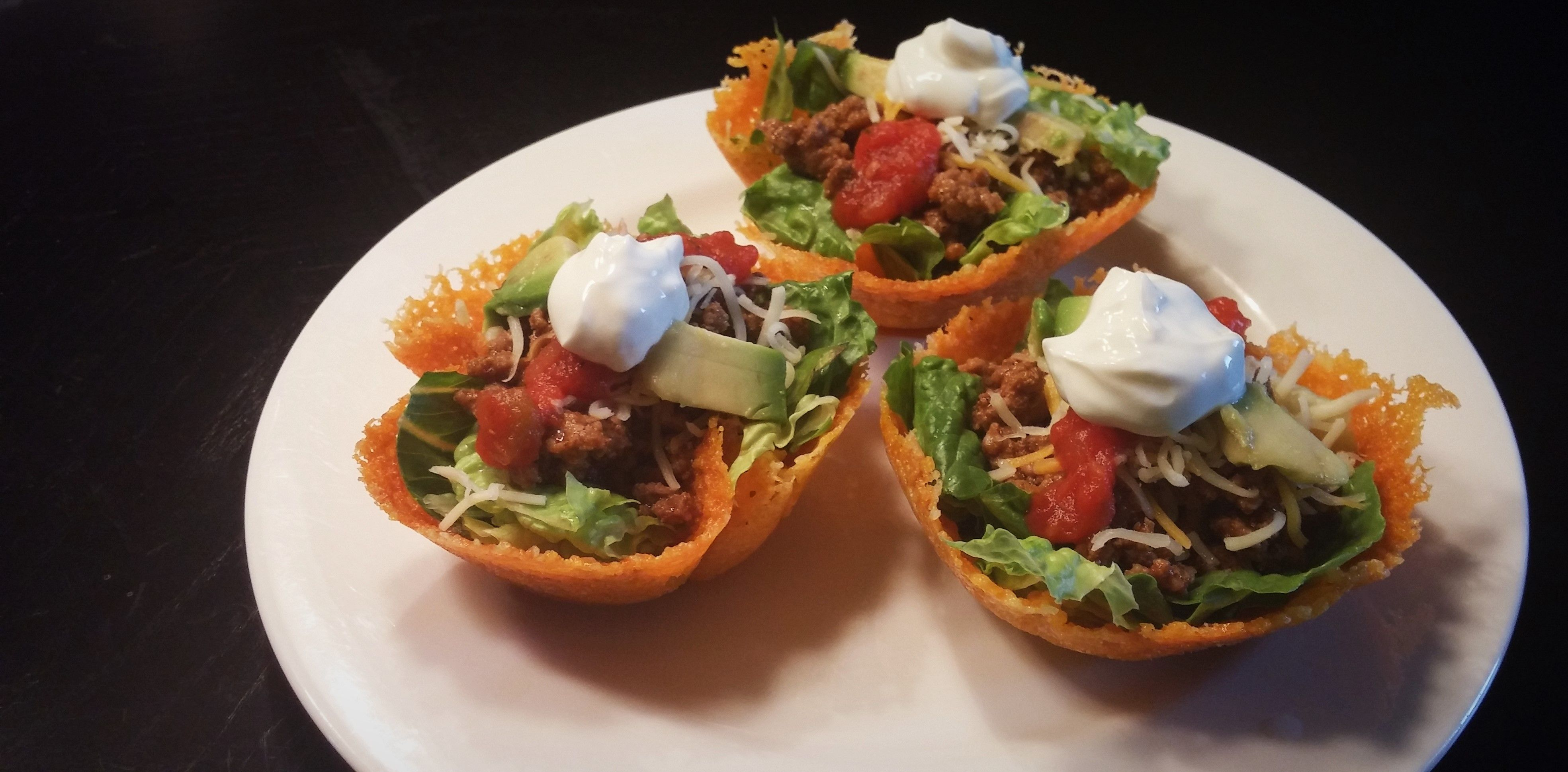 Taco Cheese Cups