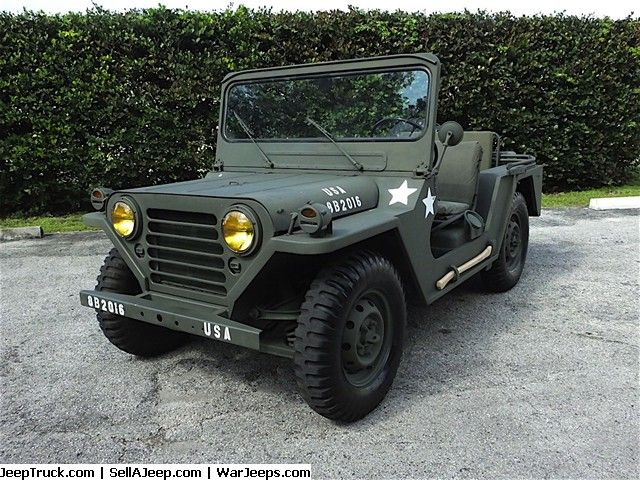 Used Jeeps And Jeep Parts For Sale 1967 M151 Military Vietnam