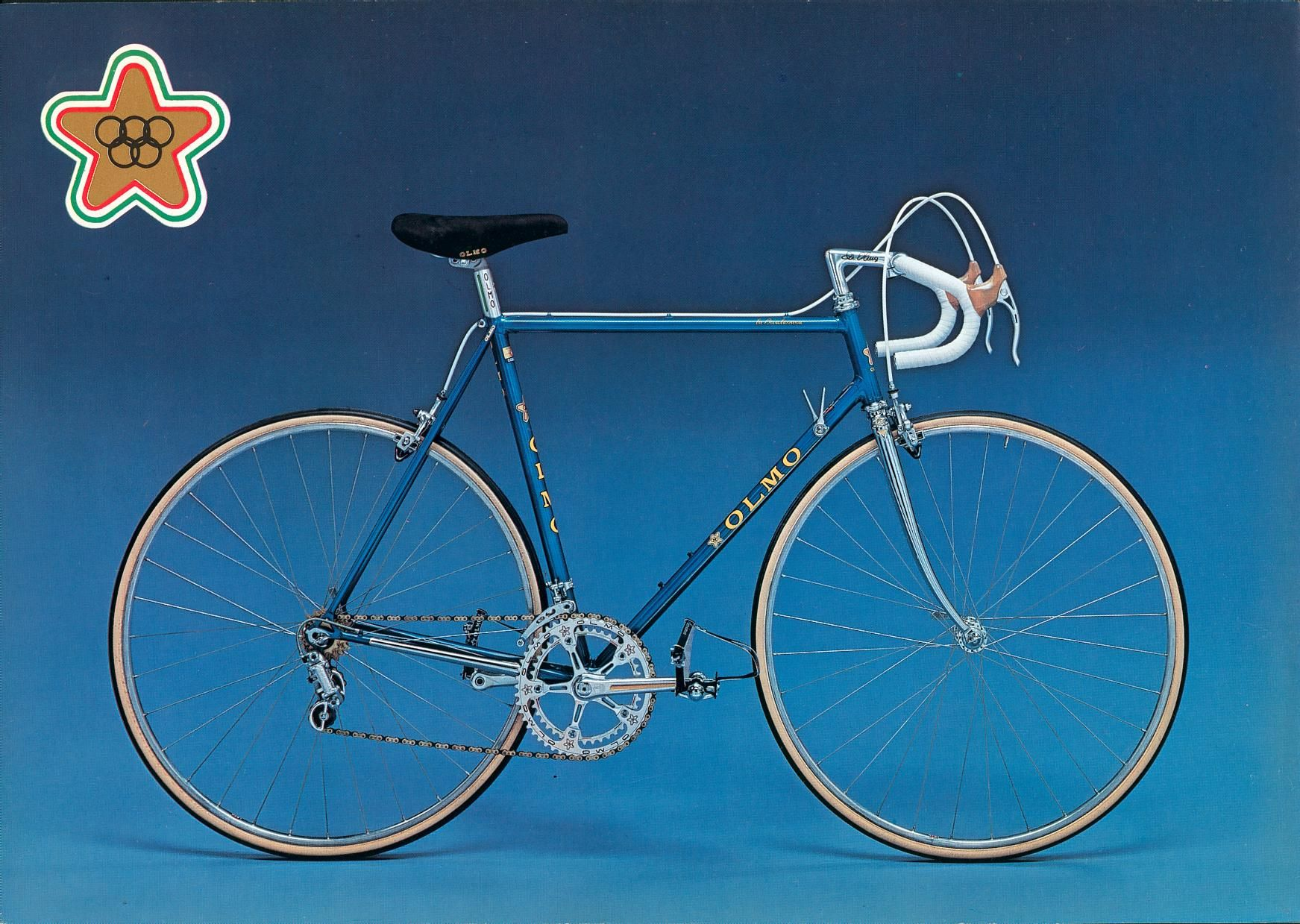 My Olmo Competition Year Classic Road Bike Bike Swag Retro Bicycle