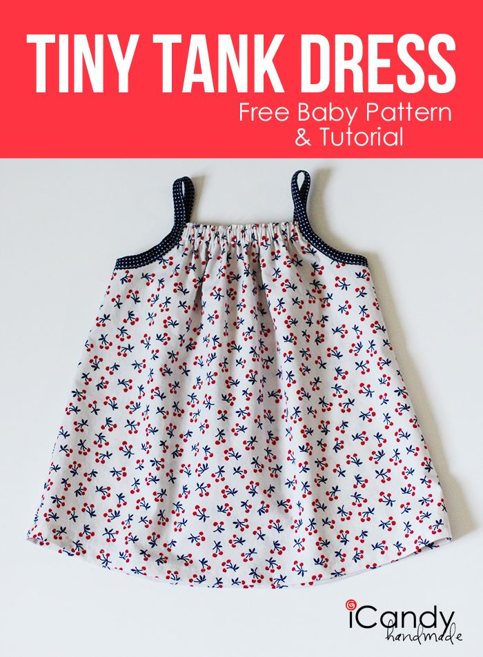10 Must-Sew Free Baby Dress Patterns | Pinterest | Tank dress ...