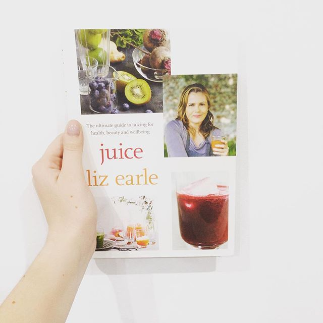 The juicer is out ready #lizearle #lizearlejuice #lbloggers