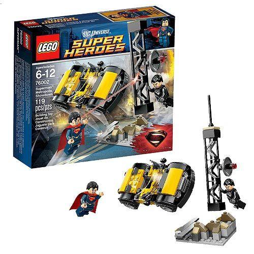 LEGO Superman Man of Steel 76002 Metropolis Showdown