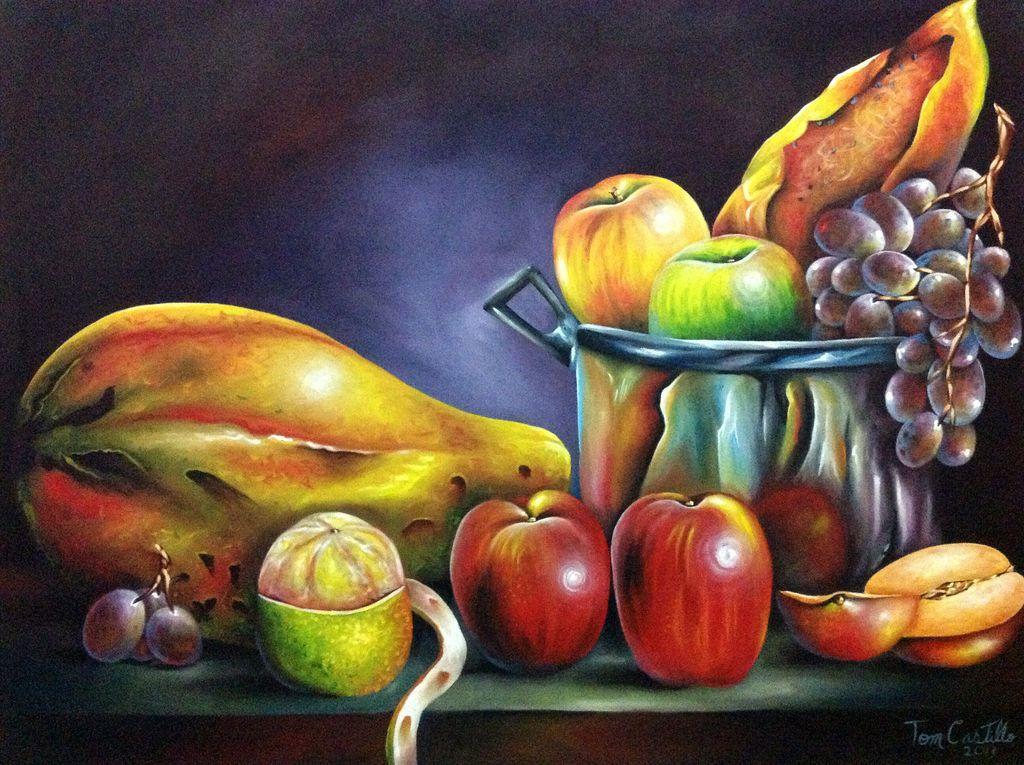 Bodegon de frutas buscar con google pinturas for Pinturas bodegones modernos