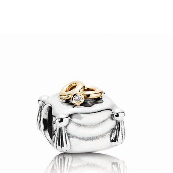 Pandora Romantic Union Charm Silver 14k Pandora Wedding Charms Pandora Wedding Pandora Bracelet Charms