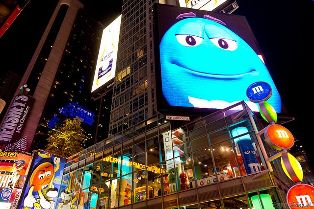 New York City - M&M's World in Times Square (NYC), USA - La ...
