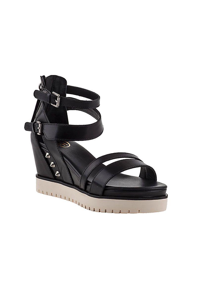 549b715f08c74 Image Enlargement of Penelope Sandals in Black by ASH Footwear ...