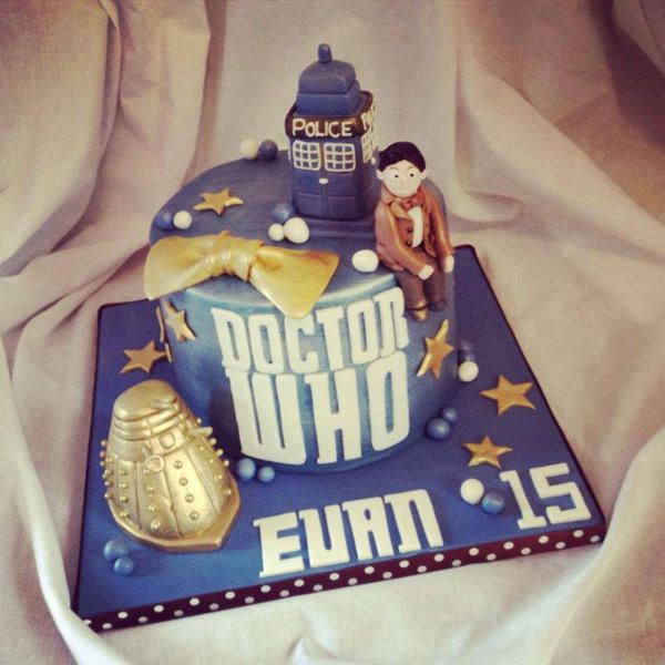 Dr who birthday cakes asda Cakes Dr Who Tardis Pinterest