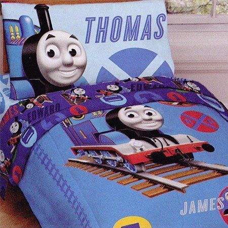 Thomas The Train Pillowcase Cool Thomas The Train Tracks 4Pc Toddler Bedding Set Comforter Fitted Decorating Inspiration