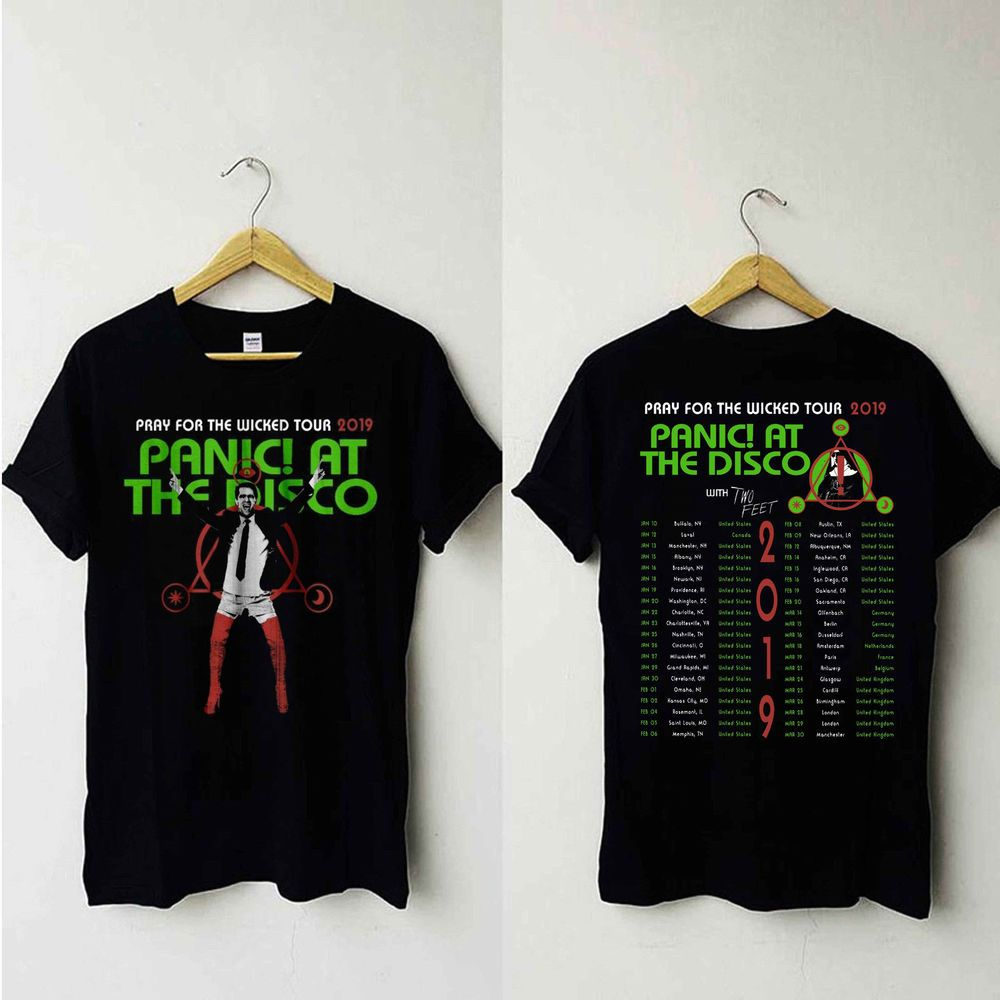 1fa45cd4 Panic! At The Disco Pray For The Wicked Tour Dates 2019 T Shirt Unisex  S-XXL #fashion #clothing #shoes #accessories #mensclothing #shirts (ebay  link)