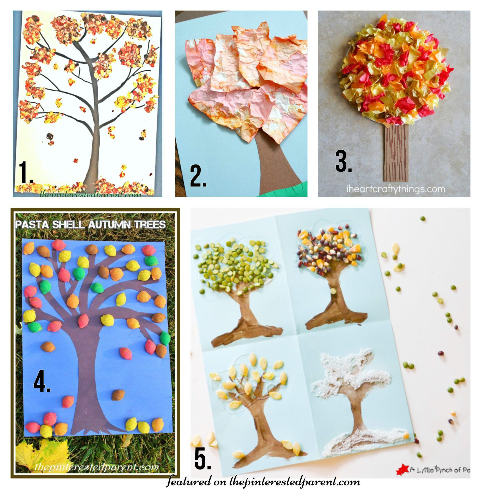 20 Fall Tree Arts Amp Crafts Ideas For Kids