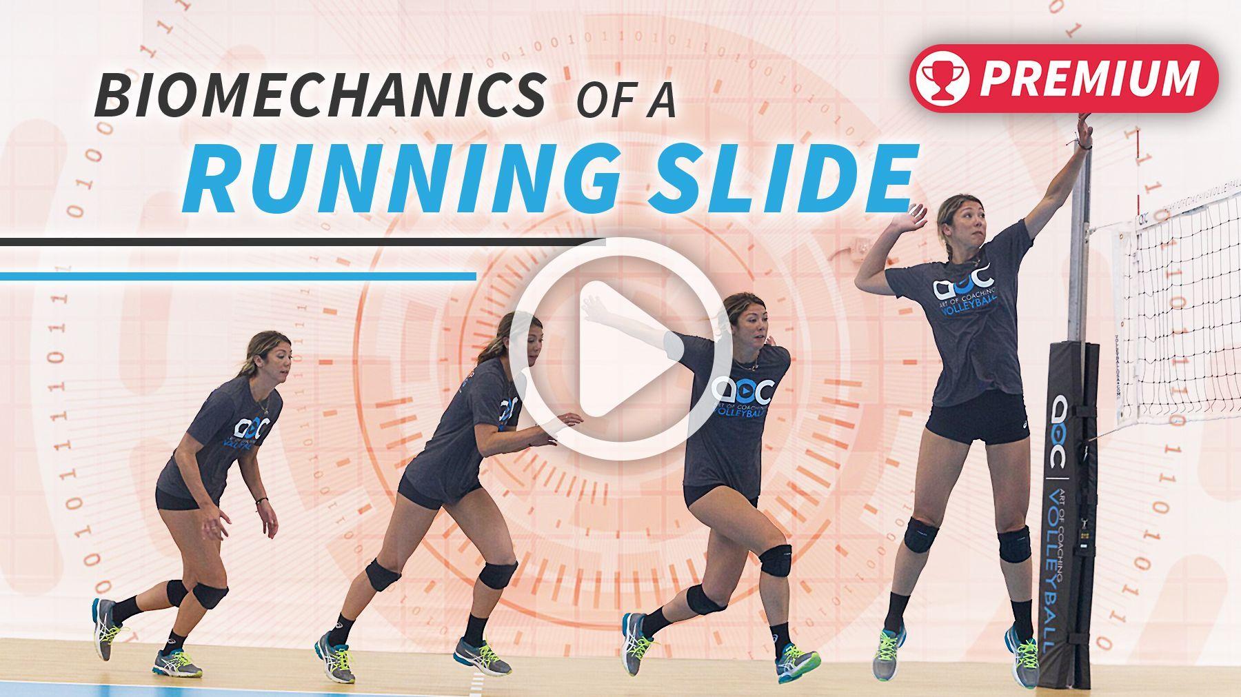 Biomechanics Of Running A Slide Volleybal