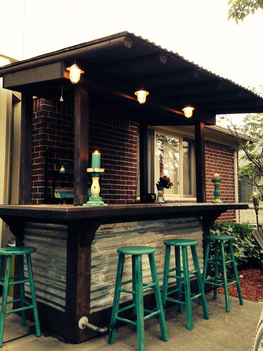 Backyard Cantina Bar Para Patios Bar De Jardin Bar En Casa