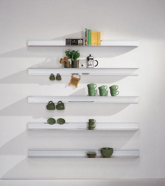 Decorative Aluminum Wall Shelves